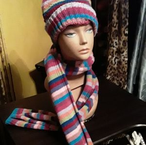 Hat With Scarf, EXCELLENT CONDITION